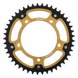 Supersprox Gold Stealth Rear Sprocket Suzuki GSX-R600 750 GSF1200 45T
