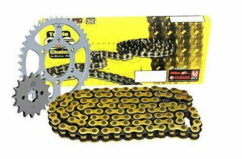 Triple S 530 Chain and Sprocket Kit Gold Kawasaki ZZ-R600 ZX600 E1-E12 1993-05