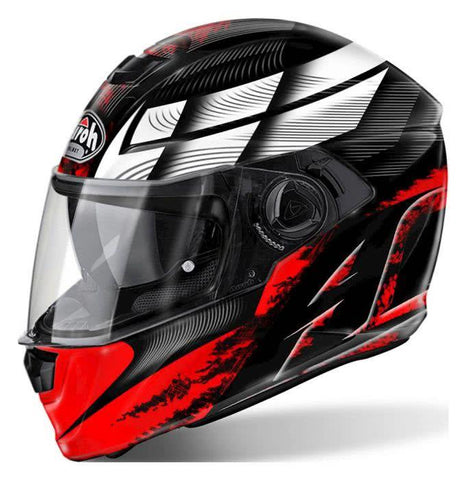Airoh Storm Full Face Helmet Red - With Pinlcok