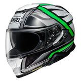 Shoei GT Air 2 Haste TC4 Motorcycle Helmet Green