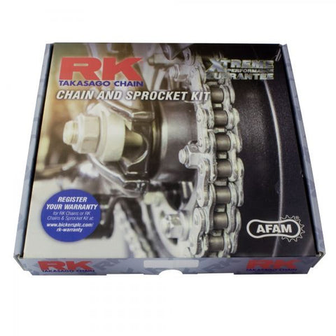 Derbi Senda 50 R RK Racing Chain & Sprocket Kit 07-10