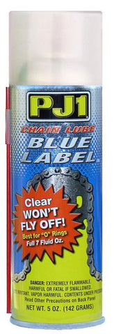 PJ1 Chain Lube Blue Label O Ring / X Ring - 500ML Box of 6