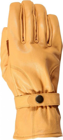 Weise Highway Classic Motorcycle Glove Retro Style Tan