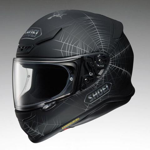 Shoei NXR Dystopia TC5 Motorcycle Helmet Black