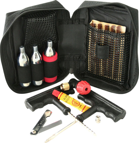 Gear Gremlin Motorcycle Puncture Repair Kit With CO2 Canisters