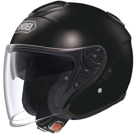 Shoei J-Cruise Plain Motorcycle Helmet Black