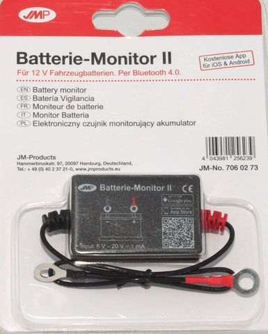 JMP Bluetooth Battery Monitor Version 2 - Smartphone Compatible