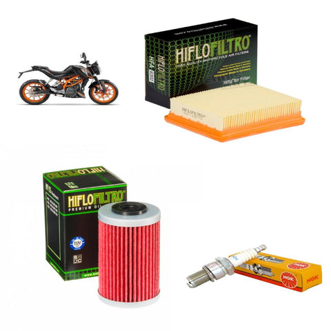 Basic Service Kit - KTM Duke 125 (11-17)
