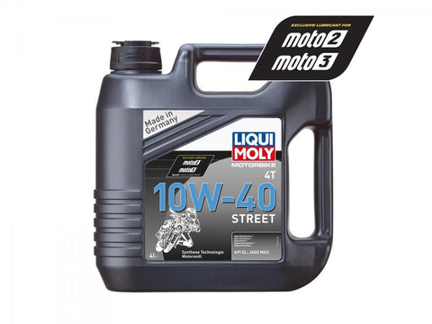 Liqui Moly Street Semi Synthetic 10W-40 Oil - 4 LTR