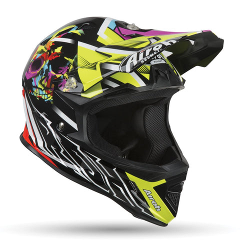 Airoh Archer Junior Mistery Yellow Helmet