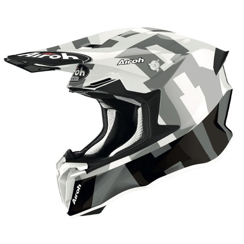 Airoh Twist 2.0 Frame Motocross & ATV Helmet Grey/Gloss