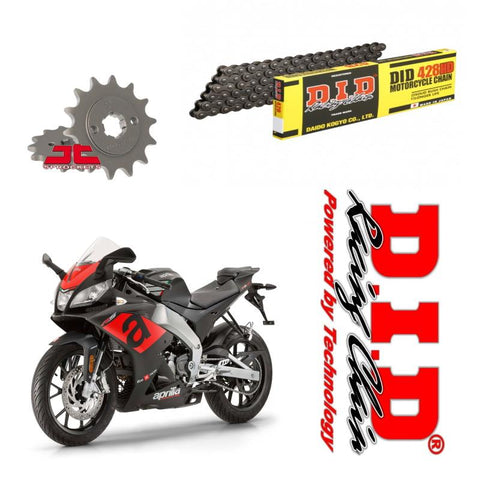 Aprilia RS125 4T DID Chain and Sprocket Kit Heavy Duty 2017-2020