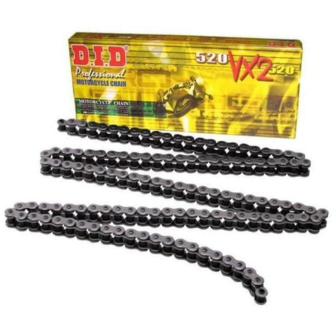 DID VX2 520 Off-Road Motorcycle Chain KTM Duke 390 2013-16