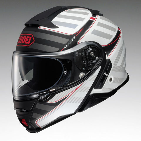 Shoei Neotec 2 Splicer TC6 Motorcycle Helmet White