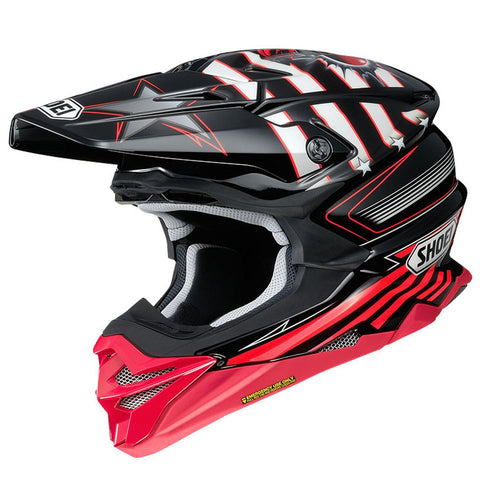 Casque Motocross & VTT Shoei VFX-WR Grant3 TC1 Rouge