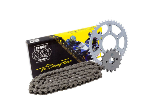 Yamaha MT125 ABS Chain & Sprocket Kit: 2015-17