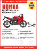Haynes Manual 5919 CBR125R/250R 11-14&CRF250L