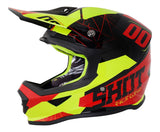 Shot Furious Spectre Motocross Helmet Grey Red Neon Yellow ACU Approved