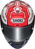 Shoei X-Spirit 3 Marquez 5 Anth TC1 Motorcycle Helmet Red/Anthracite