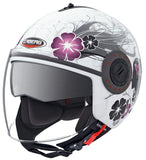 Caberg Riviera Diva / Motorcycle Helmet White/Silver