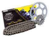 Triple S 520 HD Chain and Sprocket Kit Black Cagiva Mito 125 Evolution 1992-99