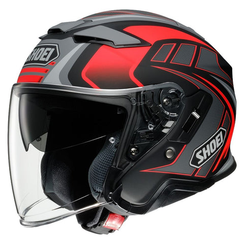Shoei J-Cruise 2 Aglero TC1 Motorcycle Helmet Red