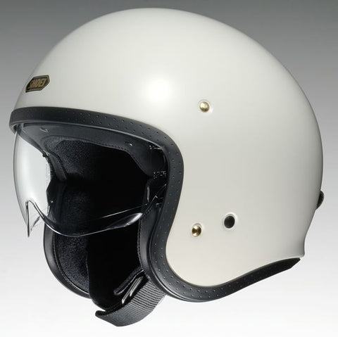 Shoei J.O. Off Motorcycle Helmet White