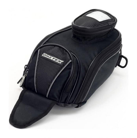 Biketek Motorcycle Mini Tank Bag With Phone Pouch 7Ltr