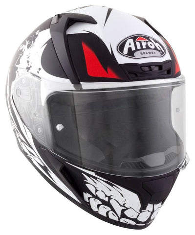 Airoh Valor Full Face Motorcycle Helmet Matt Bone Gold ACU XS-2XL