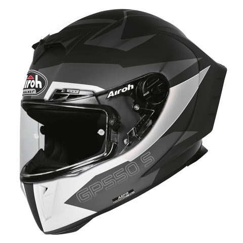 Airoh GP550S Full Face Helmet Vektor Black Matt