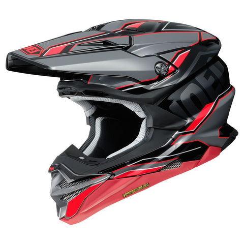 Shoei VFX-WR Allegiant TC1 Motocross & ATV Helmet Red