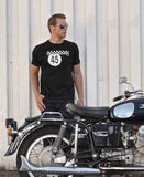 Oily Rag Clothing Retro Motorcycle T-Shirt No45 Biker