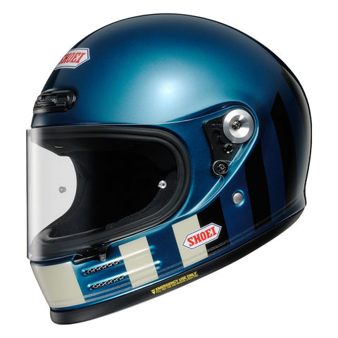 Shoei Glamster Resurrection TC2 / Motorcycle Helmet Blue/Black