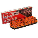 KSR-Moto Code 125 Chain and Sprocket Kit Orange RK Racing 2014-2019