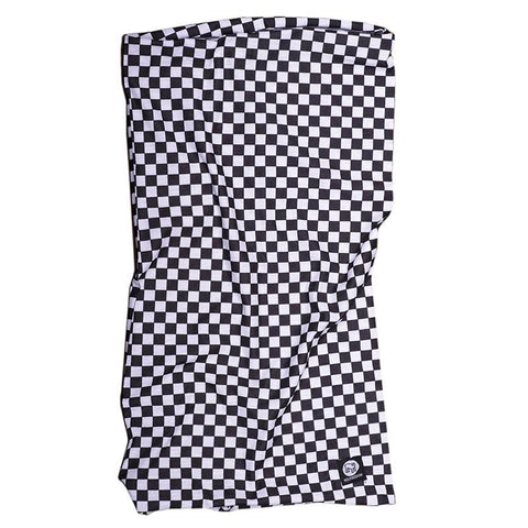 Holy Freedom Cafe Racer Coolmax Motorcycle Neck Tube Bandana Chequered
