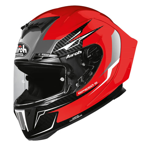 Airoh GP550S Full Face Helmet Venom Red Gloss