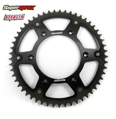 Supersprox Alloy Sprocket 50T Black KTM Husqvarna SX SXF EXC EXCF TC FE TE FC