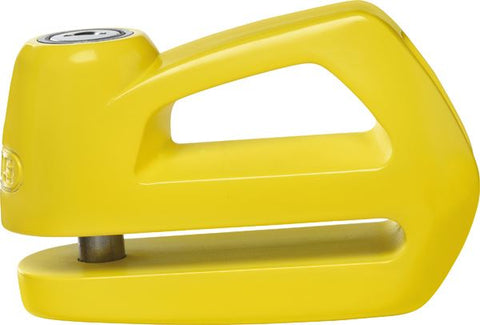 Abus Element 290 Motorcycle Brake Disc Lock Yellow 9.5mm