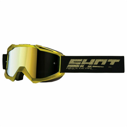 Shot Iris solid gold MX Goggles