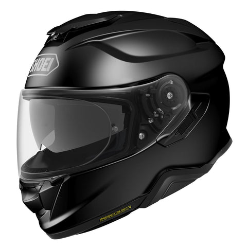 Shoei GT Air 2 Plain Black Motorcycle Helmet