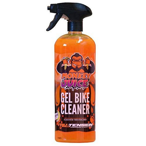 Tru-Tension Monkey Juice Gel Motorcycle Bike Dirt Cleaner 1L Trigger Bottle