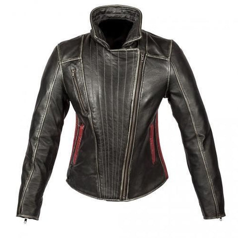 Spada Baroque Ladies Leather Jacket - Black