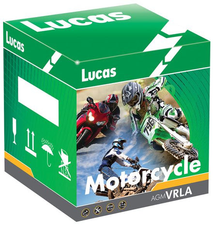 Lucas Motorcycle Batteries YTR4A-BS