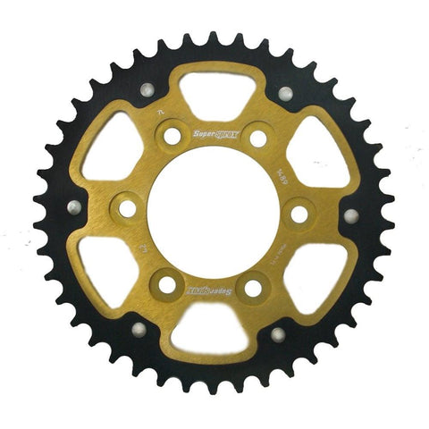 Supersprox Gold Stealth Rear Sprocket Kawasaki Z1000