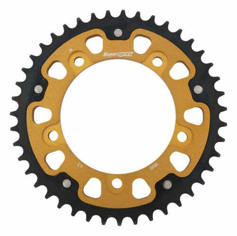 Supersprox Gold Stealth Rear Sprocket Suzuki Hayabusa GSF1250 B King