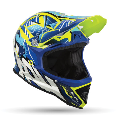 Airoh Archer Junior Bump Blue Helmet