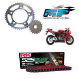 Honda CBR600RR Red RK Racing Chain & Sprocket Kit 03-16