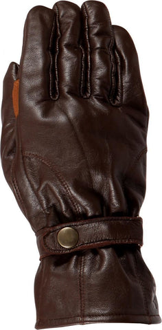 Weise Highway Classic Motorcycle Glove Retro Style Brown