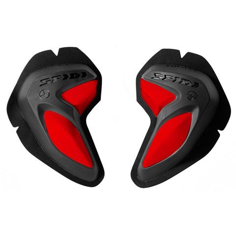 Spidi GB Safety Lab Kit BI-Phase Sliders Black/Red Pair