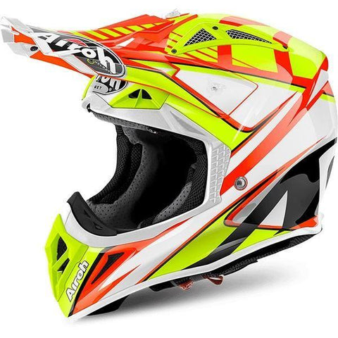 Airoh Aviator 2.2 Motorradhelm Double Orange